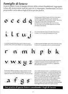 calligrafia per Scoiattolino